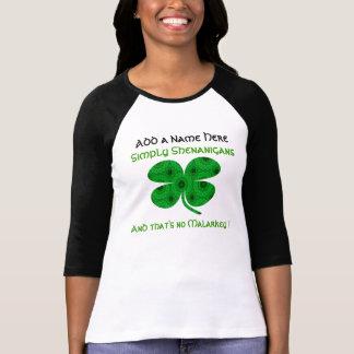 A029 Kaleidoscopic Clover - Personalized Shirt.3B T-Shirt