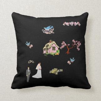 A04 Cherry Blossom Bride Pillow