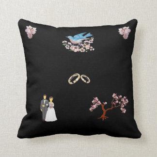 A05  Cherry Blossom Bride Pillow