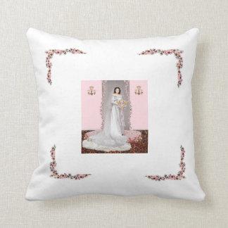 A07  Cherry Blossom Bride Pillow