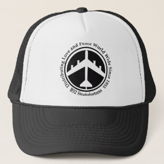 A098 B52 distribiting love black.png Trucker Hat