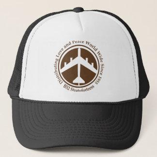 A098 B52 distribiting love brown.png Trucker Hat