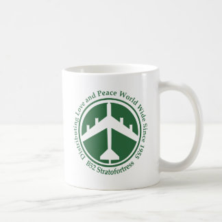 A098 B52 distribiting love dark green.png Coffee Mug