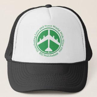 A098 B52 distribiting love green.png Trucker Hat