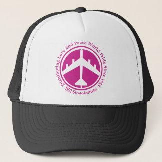 A098 B52 distribiting love hot pink.png Trucker Hat