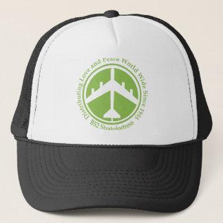 A098 B52 distribiting love lime green.png Trucker Hat