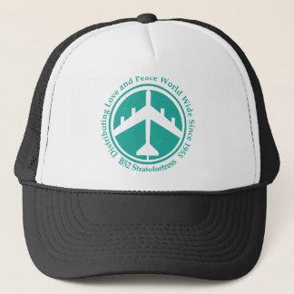 A098 B52 distribiting love teal.png Trucker Hat