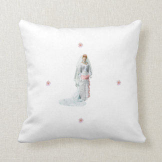 A09  Cherry Blossom Bride Pillow
