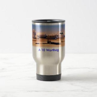A10 Desert Warrior, A 10 Warthog Travel Mug
