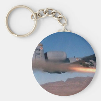 a10 maverick launch basic round button keychain