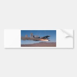 a10 maverick launch bumper sticker