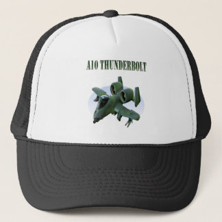 A10 Thunderbolt Green Plane Trucker Hat