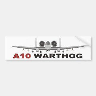A10 Thunderbolt II the Warthog Bumper Sticker