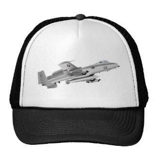 A10 thunderbolt jet design trucker hat