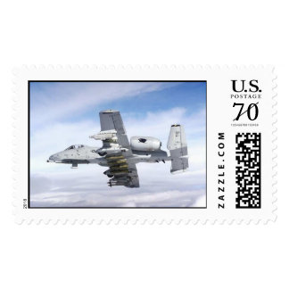 a10-thunderbolt-warthog postage stamp