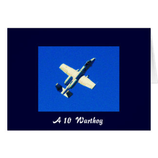 A10 Ver 2 A 10 Warthog Greeting Cards