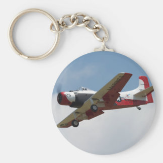 A1 Skyraider Landing Keychain