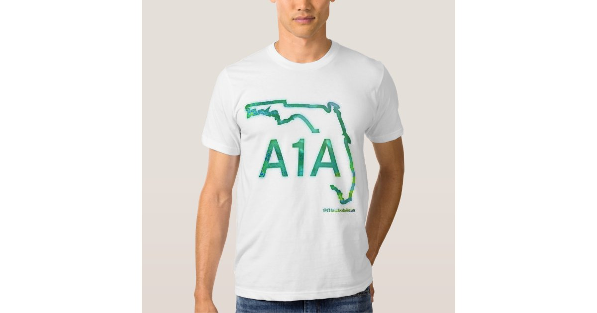 A1a Florida 39 S Scenic Highway T Shirt Zazzle