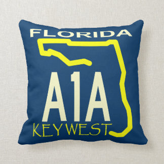 A1A Key West Any Color Pillows