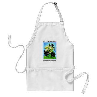 a1alilycats2, Cat's are like Potato Chips..., Y... Adult Apron