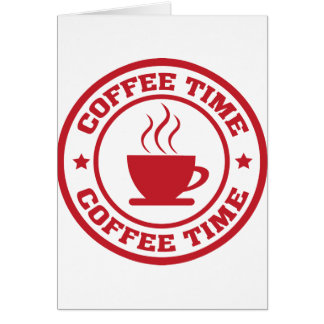 A251 coffee time circle red card