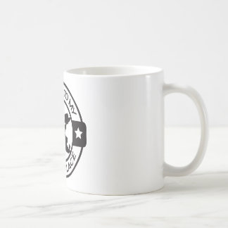 A259 happy place pastry chef black coffee mug