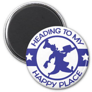 A259 happy place pastry chef blue 2 inch round magnet
