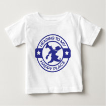 A259 happy place pastry chef blue baby T-Shirt