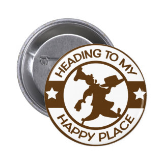 A259 happy place pastry chef brown buttons