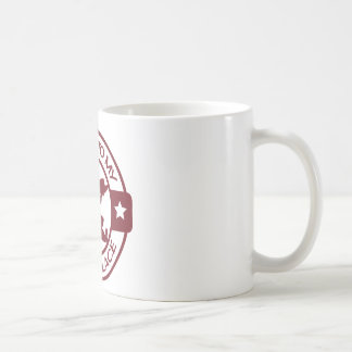 A259 happy place pastry chef burgundy coffee mug