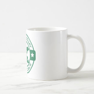 A259 happy place pastry chef dark green coffee mug