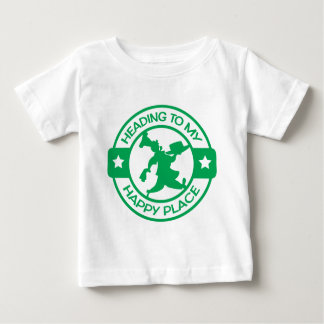 A259 happy place pastry chef green t-shirt