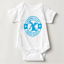 A259 happy place pastry chef light blue baby bodysuit