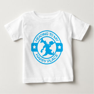 A259 happy place pastry chef light blue baby T-Shirt