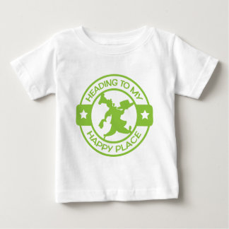A259 happy place pastry chef lime green tee shirts
