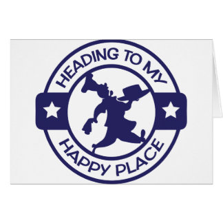 A259 happy place pastry chef navy blue card