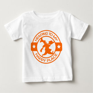 A259 happy place pastry chef orange baby T-Shirt