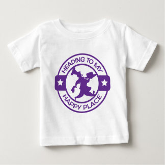 A259 happy place pastry chef purple baby T-Shirt