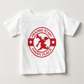 A259 happy place pastry chef red baby T-Shirt