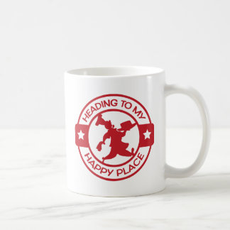 A259 happy place pastry chef red coffee mug