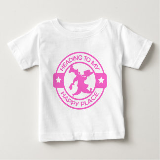 A259 happy place pastry chef soft pink baby T-Shirt