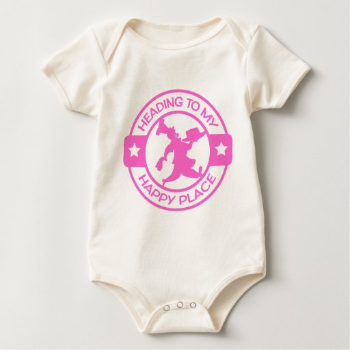A259 happy place pastry chef soft pink bodysuits
