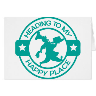 A259 happy place pastry chef teal card