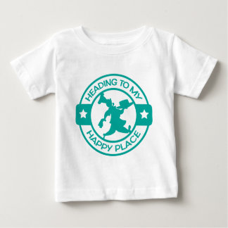 A259 happy place pastry chef teal tshirts