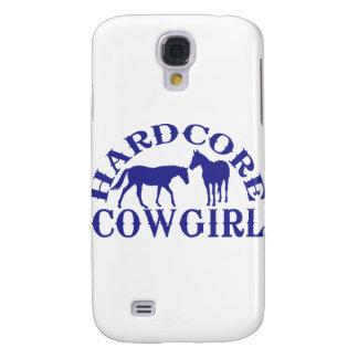 A262 hardcore cowgirl blue samsung galaxy s4 case
