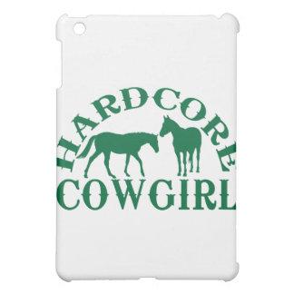 A262 hardcore cowgirl dark green iPad mini covers