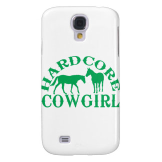 A262 hardcore cowgirl green samsung s4 case