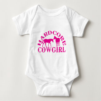A262 hardcore cowgirl hot pink tee shirts