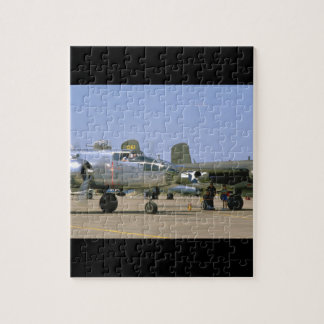 A26 Invader. (plane;a26_WWII Planes Jigsaw Puzzle