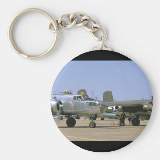 A26 Invader. (plane;a26_WWII Planes Keychain